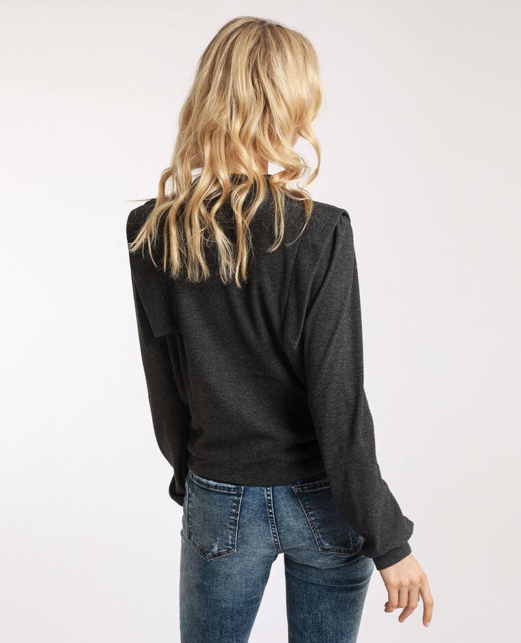 T-shirt épais gris anthracite - Pimkie