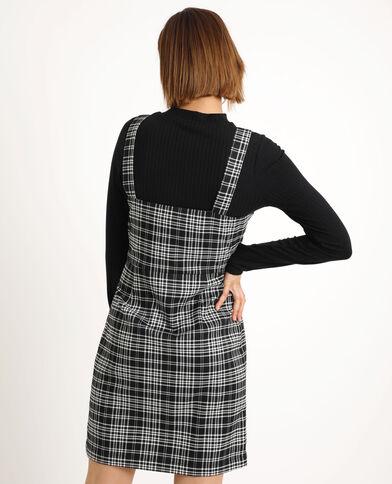 Robe à zip noir