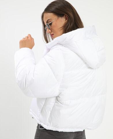 Doudoune à capuche blanc - Pimkie
