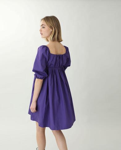 Robe trapèze violet