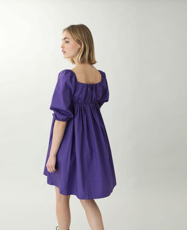 Robe trapèze violet - Pimkie