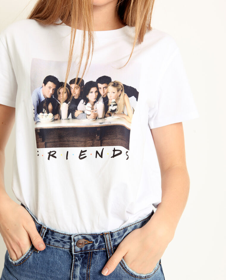 T-shirt FRIENDS blanc