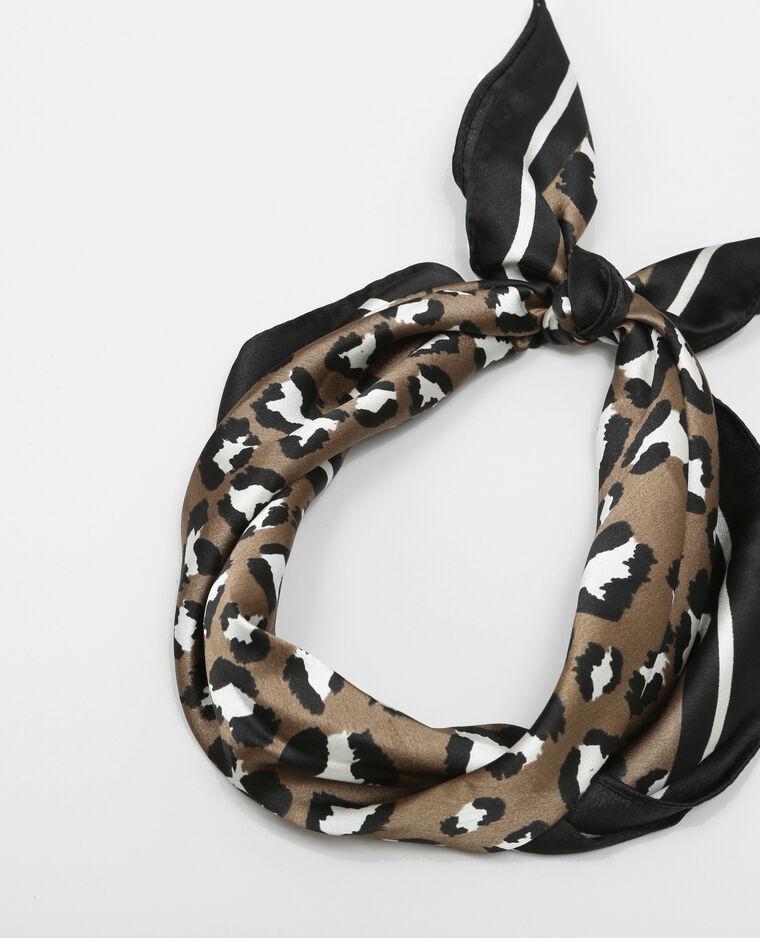 Bandana léopard Beige