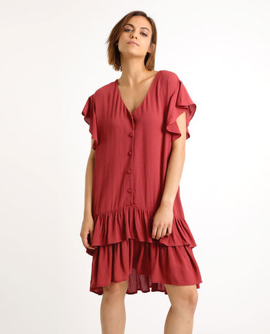 15c71d6a08 Robe bordeaux