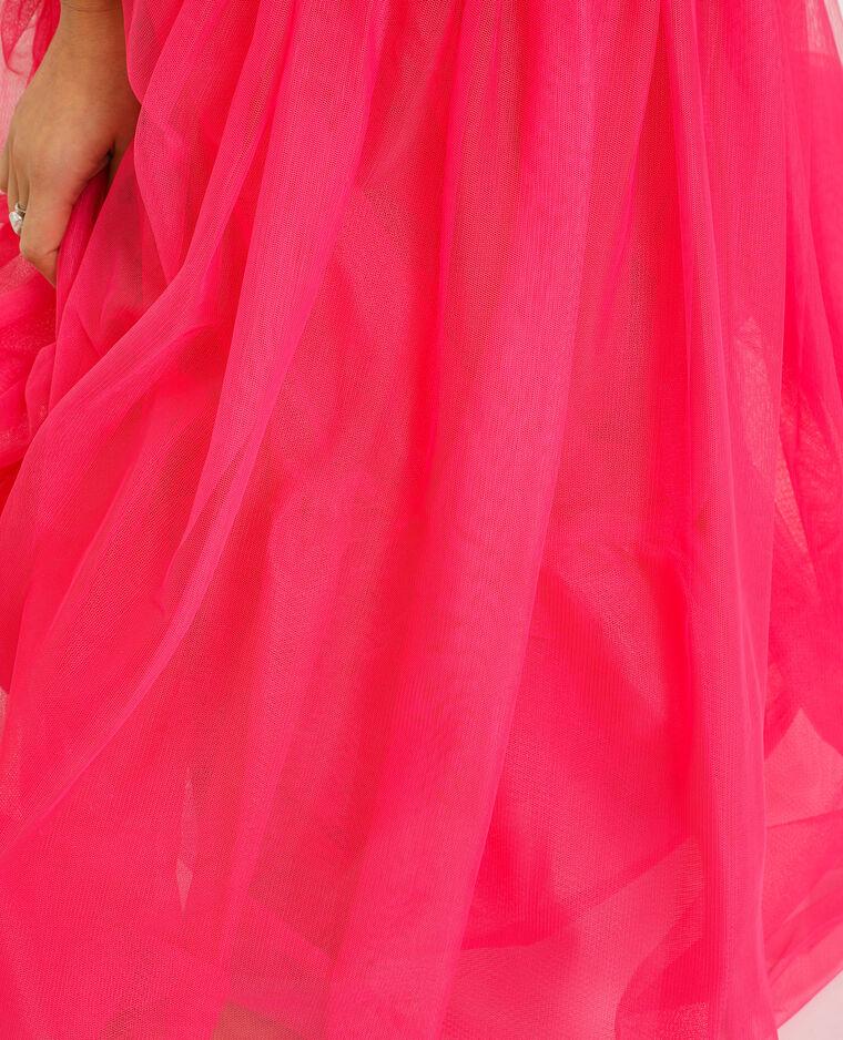 Robe tutu rose fuchsia