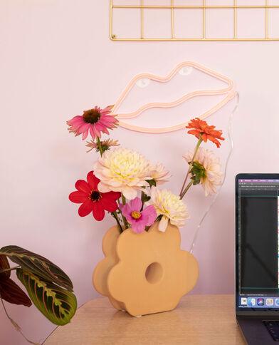 Vase fleur jaune - Pimkie