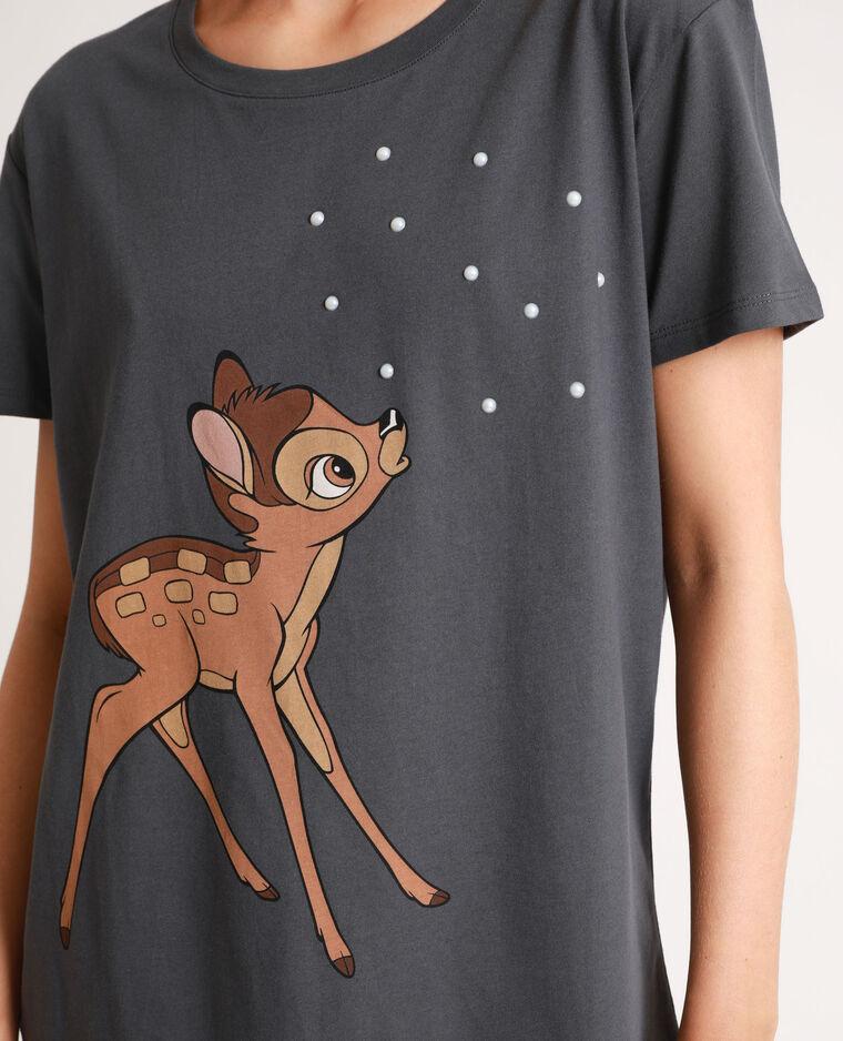 T-shirt Bambi gris anthracite - Pimkie