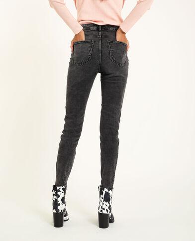 Skinny taille haute noir