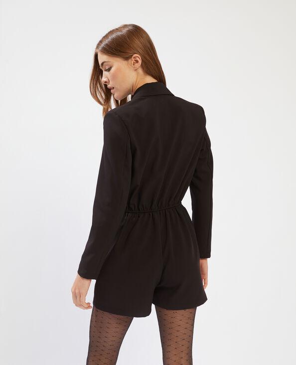 Combishort blazer noir - Pimkie