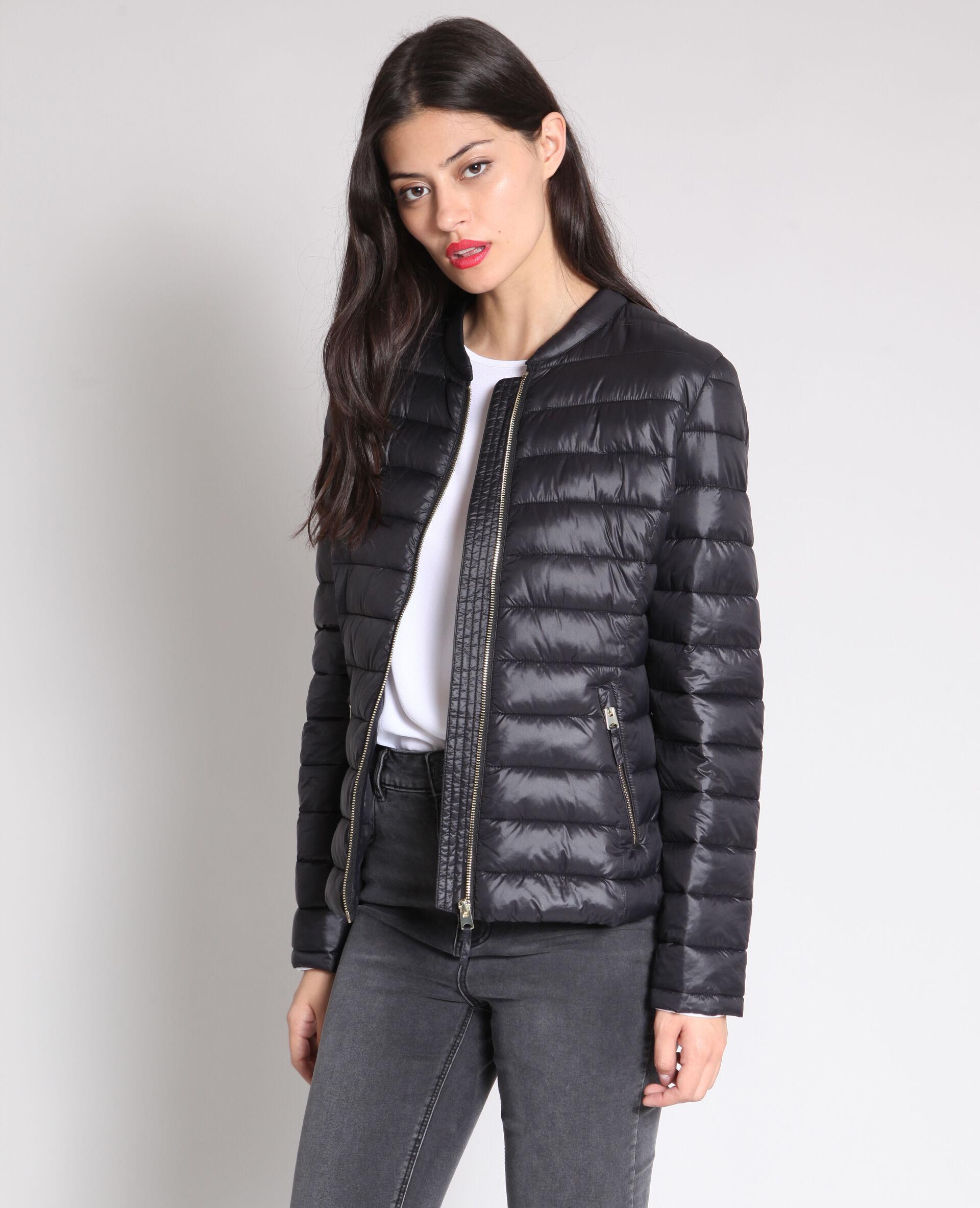 Manteau femme tres long noir pas cher