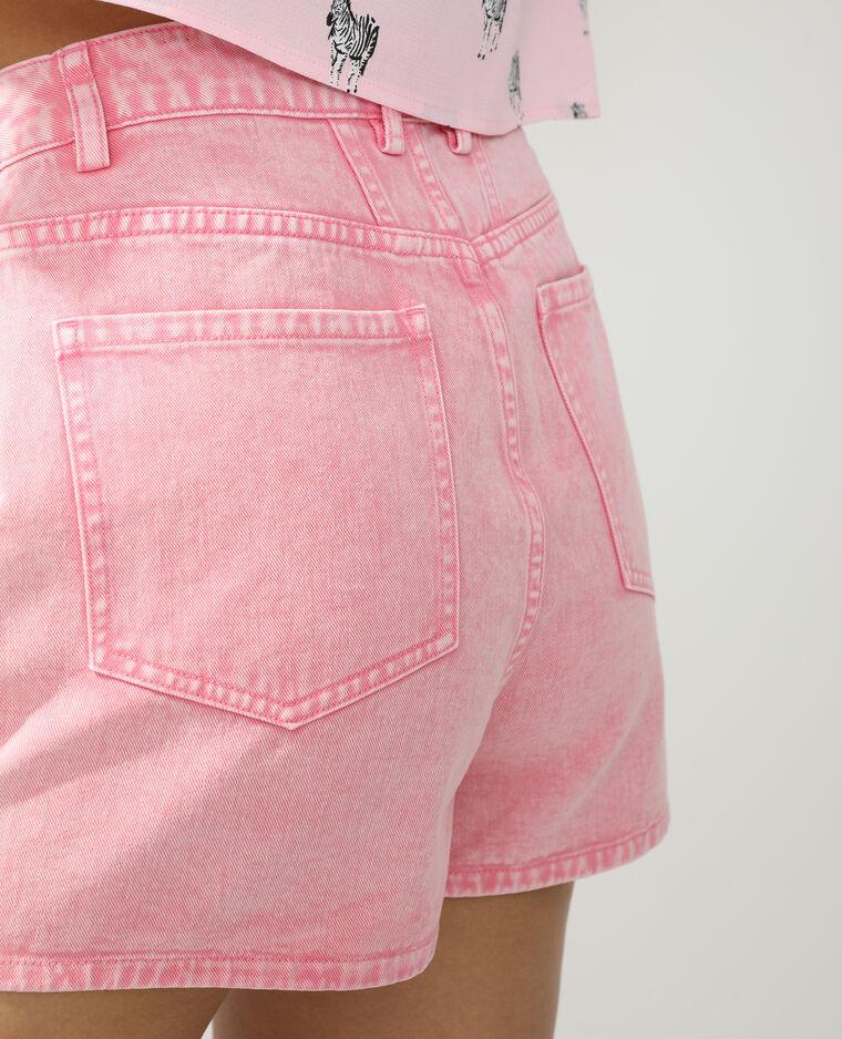 Short high waist rose pâle - Pimkie