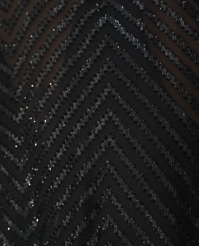 Bomber plumetis transparent noir - Pimkie