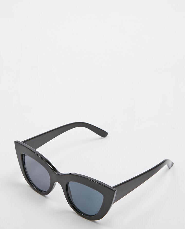 e12591d35c Lunettes de soleil cat eye noir - 916397899A08   Pimkie