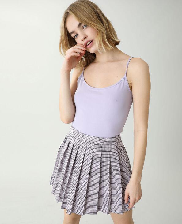 Débardeur basique violet