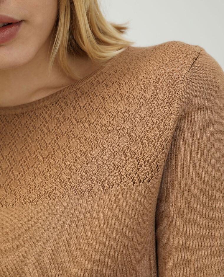 Robe pull marron - Pimkie