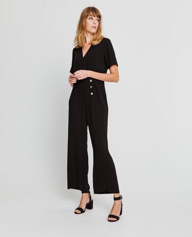 Combi-pantalon noir - Pimkie