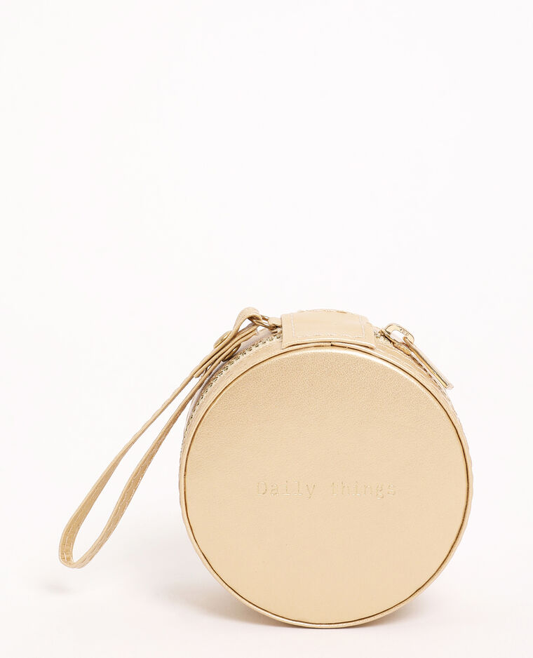 Boite à bijoux doré - Pimkie