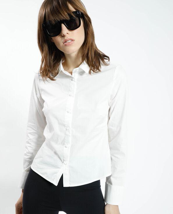 Chemise basique blanc cassé - Pimkie
