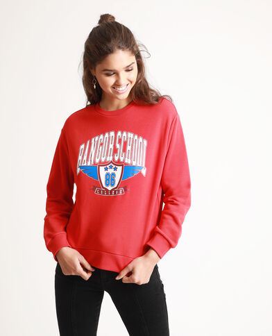 Sweat Bangor School rouge
