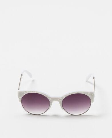 Lunettes de soleil yeux de chat noir