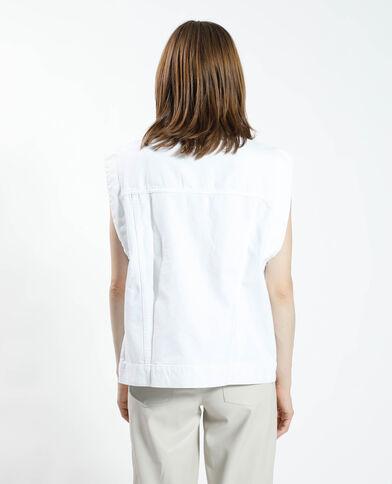 Surchemise en jean blanc - Pimkie