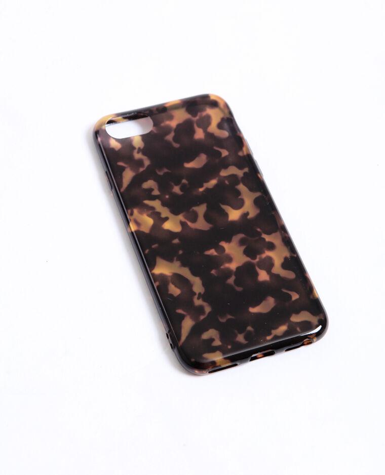 Coque compatible iPhone 6/7/8 marron