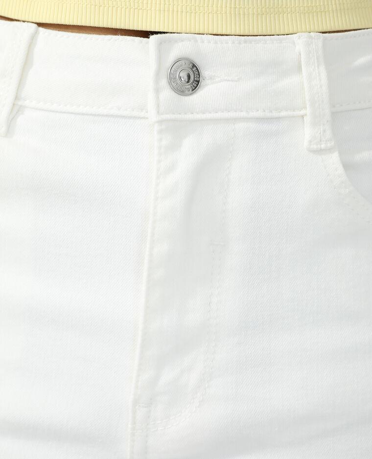 Jean wide leg high waist écru - Pimkie