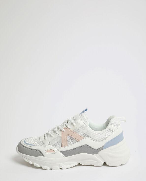 Baskets XL blanc