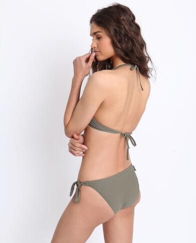Haut de bikini push-up vert