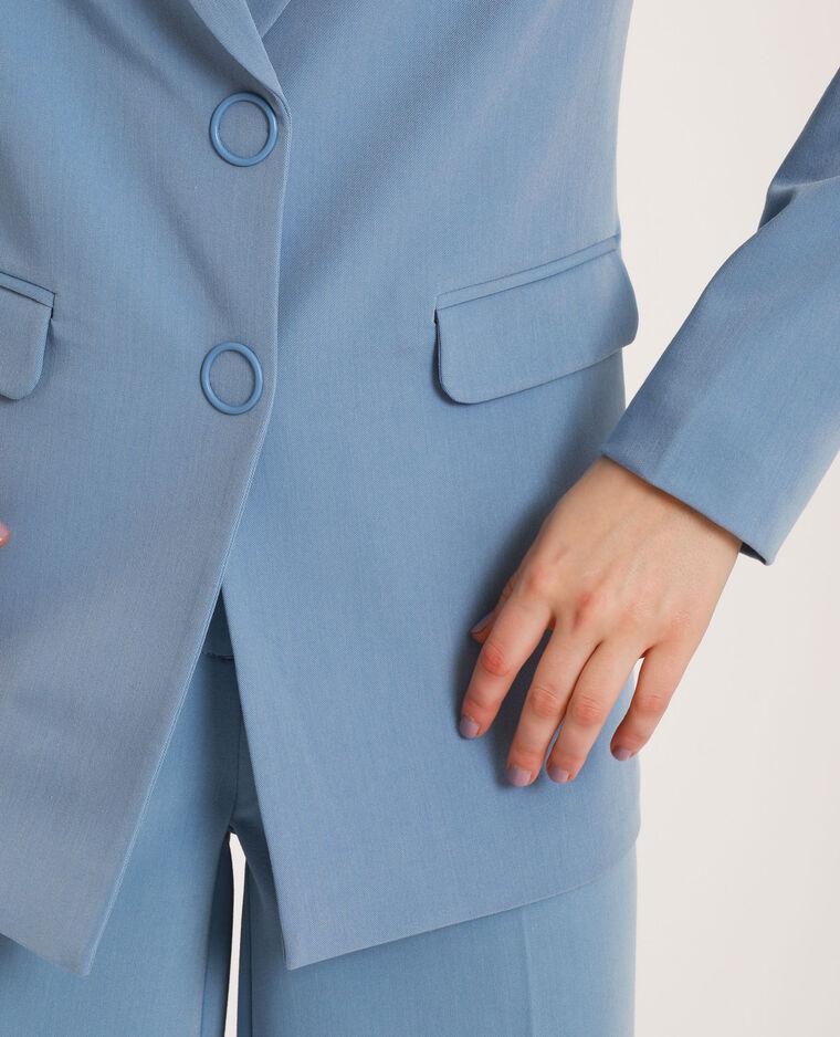 Blazer oversized bleu ciel