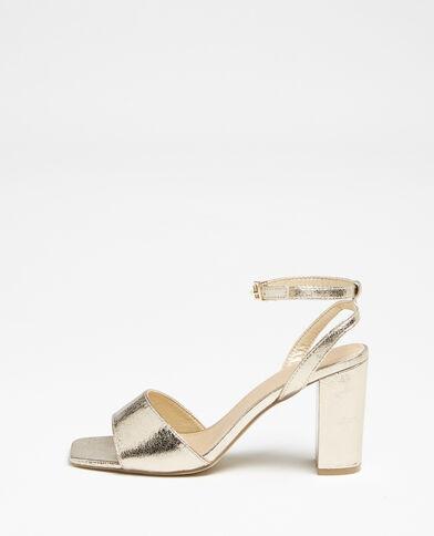 Sandales à bride doré - Pimkie