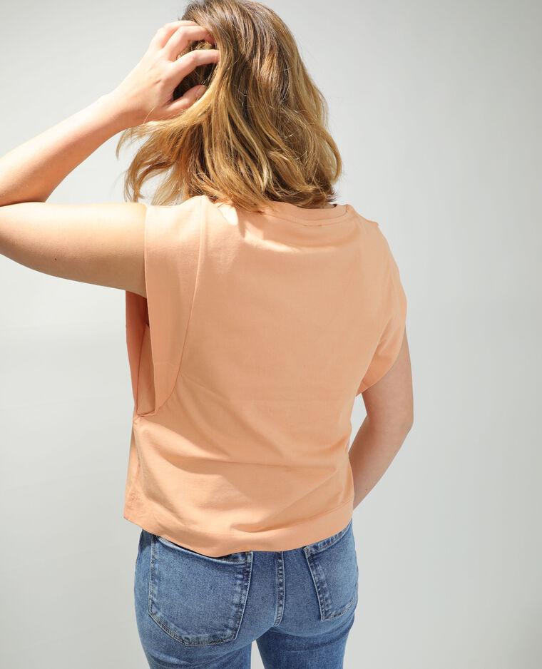T-shirt ample orange - Pimkie