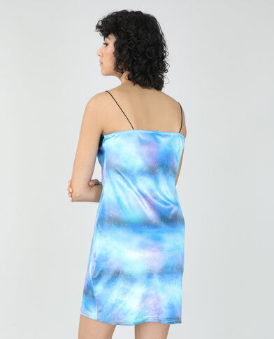 Robe pailletée bleu - Pimkie