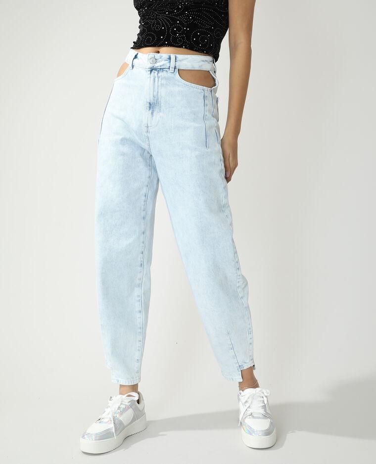 Jean slouchy high waist bleu clair - Pimkie
