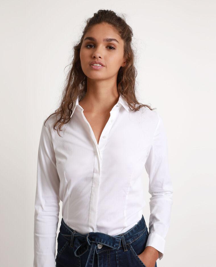 Chemise cintrée blanc