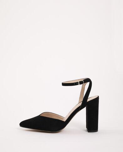 Sandales pointues noir