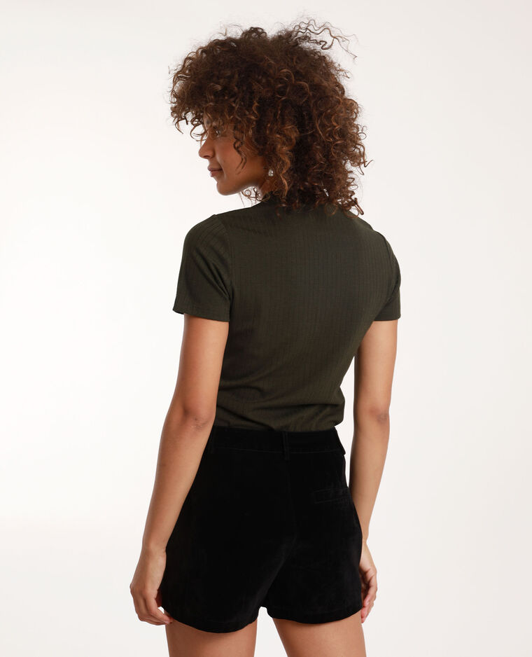 T-shirt à manches courtes kaki - Pimkie