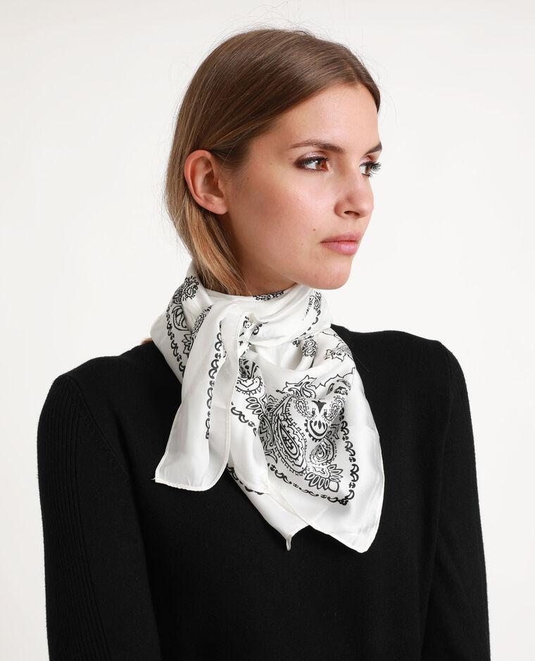 Foulard bandana blanc
