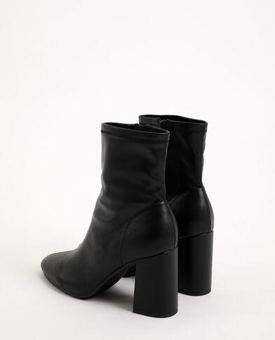 Boots à talons hauts noir