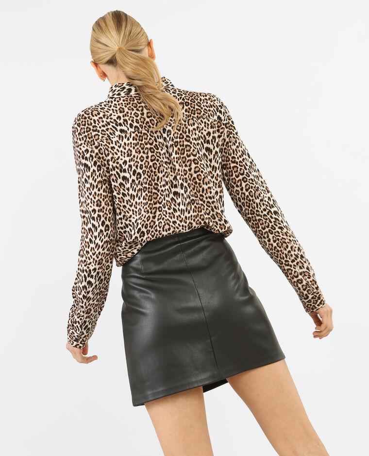 grand choix de 2d58b 60214 Chemise léopard