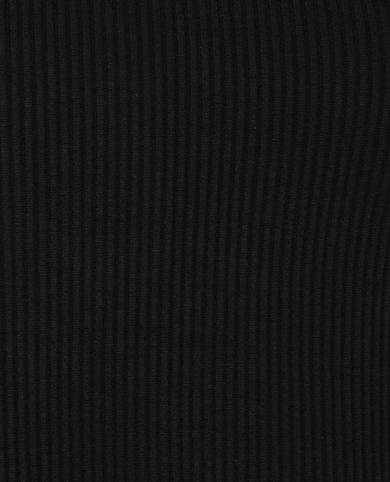 Top cropped côtelé noir - Pimkie