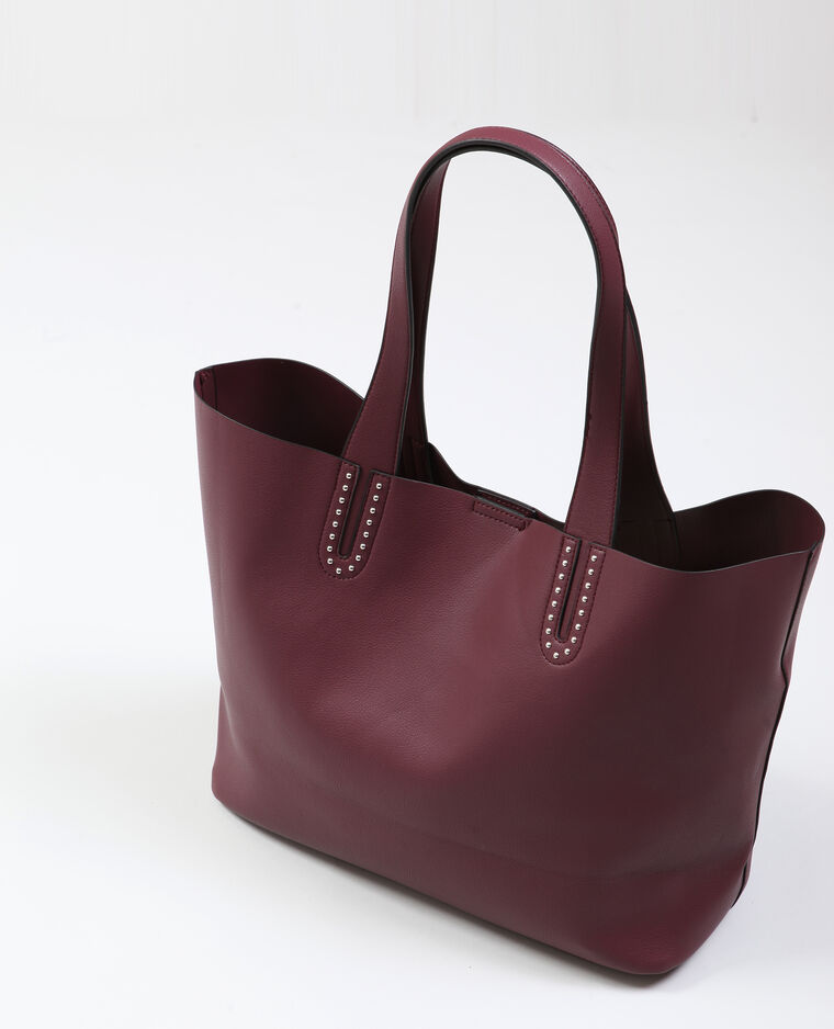 Grand sac souple Bordeaux