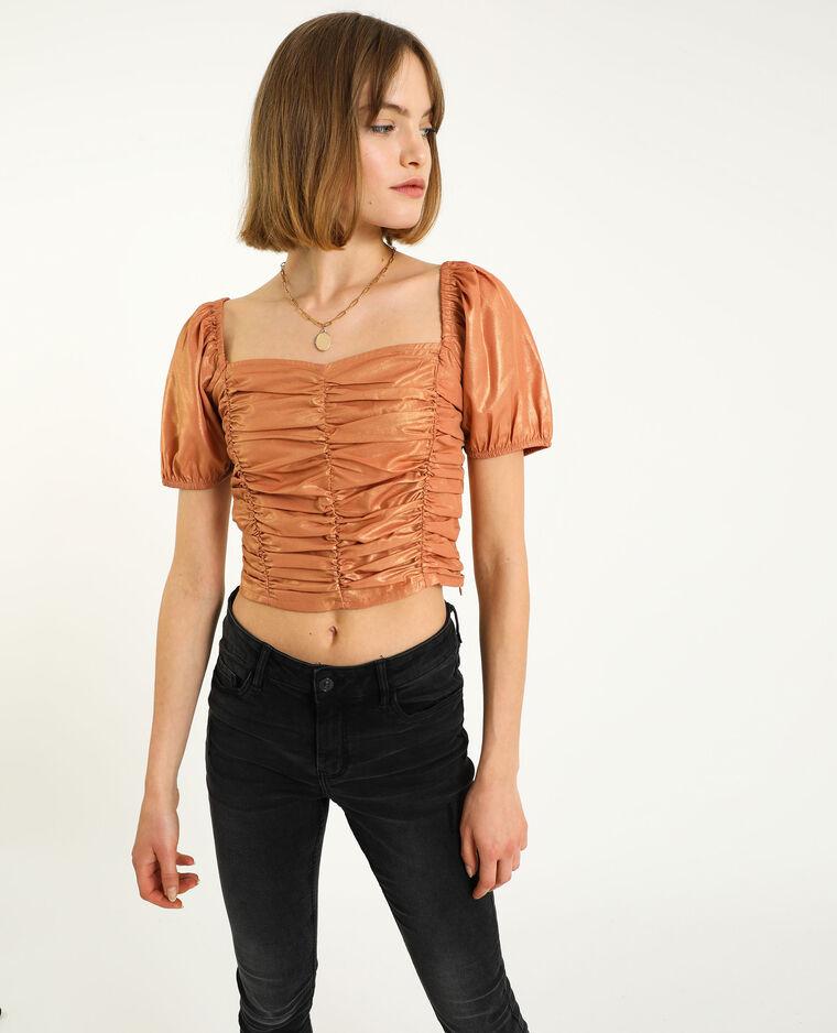 Cropped top orange - Pimkie