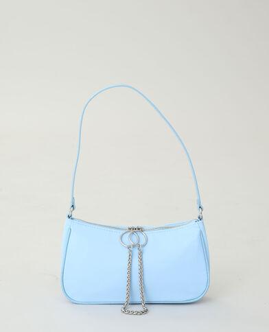 Sac nylon bleu aqua