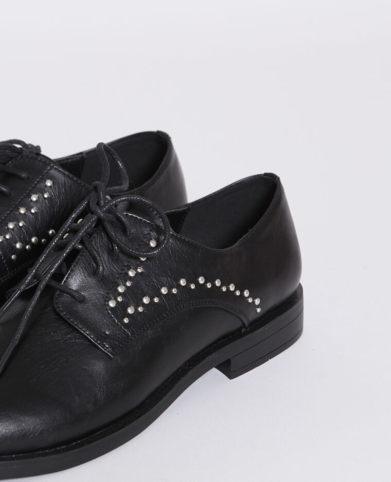 Derbies à lacets noir