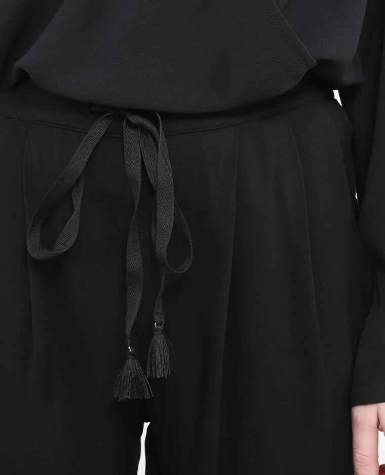 Jogpant fluide noir