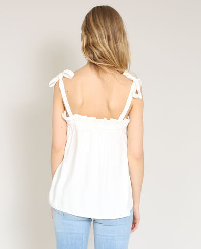 Top ample blanc