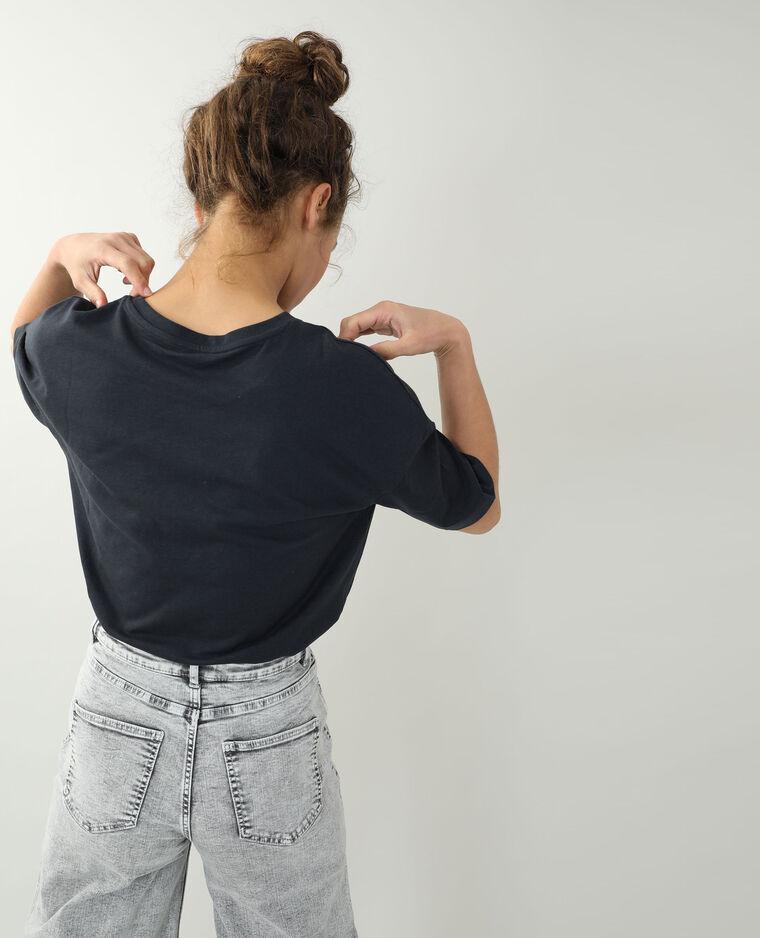 T-shirt manches courtes noir