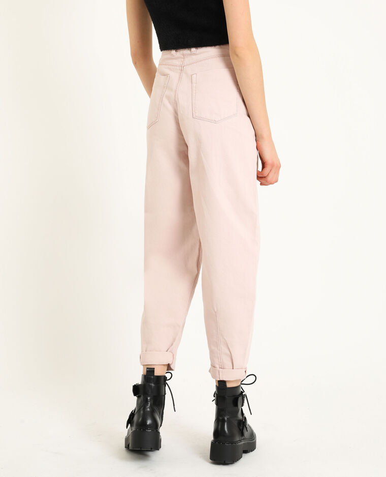 Jean slouchy vieux rose