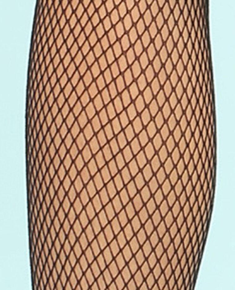 Collants résille noir